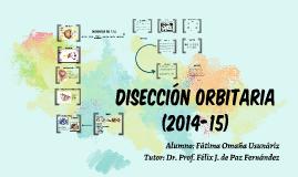 disección orbitaria