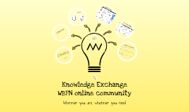 WBFN Knowledge Exchange Platform