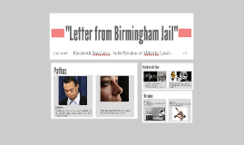 """""""Letter from Birmingham Jail"""""""