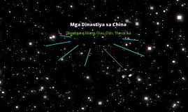 Mga Dinastiya ng China