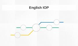 English IOP