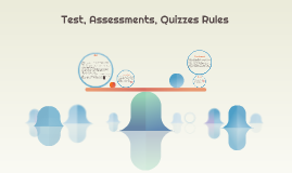 Test, Special Work, Quizzes Rules