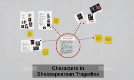 Characters in Shakespearean Tragedies
