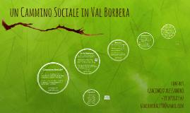 Un Cammino Sociale in Val Borbera