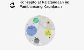 Copy of Konsepto at Palatandaan ng Pambansang Kaunlaran