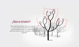Teatro: muchas definiciones para una sola palabra