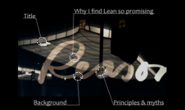Lean Software Development - Why I find it so promising