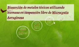 Biosorción de metales tóxicos utilizando biomasa en suspensi