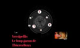 Copy of Le loup garou