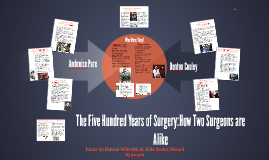 Patrick's The Five Hundred Years of Surgery:How Two Surgeons are Alike