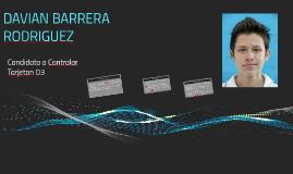 DAVIAN BARRERA RODRIGUEZ