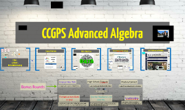 Revised Version of CCGPS Advanced Algebra