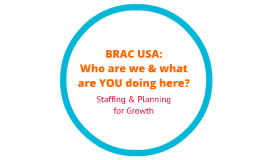 BRAC USA Organizational Structure