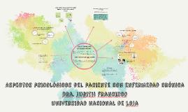 Copy of Aspectos psicológicos del paciente con enfermedad crónica