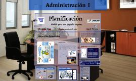 Planificacion  Gerencial- Administracion I