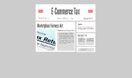 Copy of E-Commerce Tax