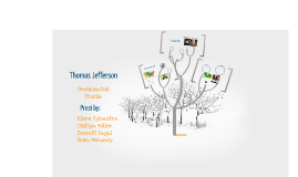 Copy of Thomas Jefferson: Presidential Profile