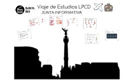 Viaje de Estudios LPCD