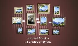 2014 Fall Mission