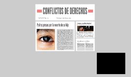 CONFLICTOS DE DERECHOS