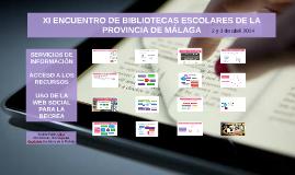 Servicios de información, acceso a los recursos y uso de la web social para la BECREA