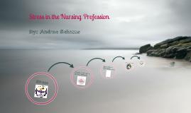 Stress in the Nursing Profession