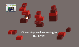 Copy of Observing and assessing in the EYFS
