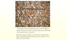 Efeitos do Tabaco