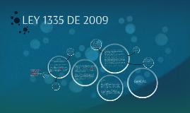 LEY 1335 DE 2009