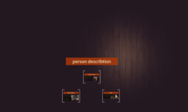 Personbeskrivelse