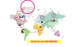 Copy of FAUNA DE LOS CONTINENTES: