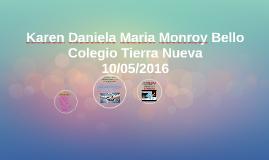 Karen Daniela Maria Monroy Bello