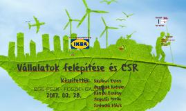 Vállalatok felépítése és CSR