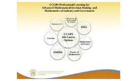 CCGPS PL for AMDM & MIG