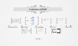 Evolution of JDRF