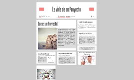 La vida de un Proyecto