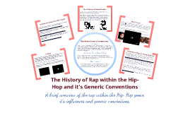 The History of Rap and it's Generic Conventions