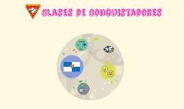 Copy of Clases de Conquistaores