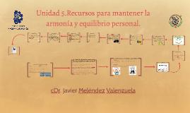 Copy of Unidad 5.Recursos para mantener la armonía y equilibrio pers