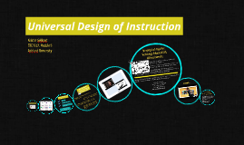 Universal Design of Instruction