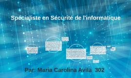 Spécialiste en Sécurité de l'informatique
