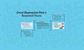 Roosevelt Years