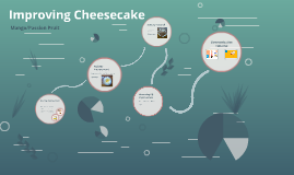 Improving mango/passion fruit cheesecake