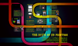 THE XYZ's OF 3D PRINTING