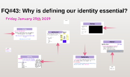 Copy of FQ: Why is defining our identity essential?