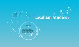 Lasallian Studies 1