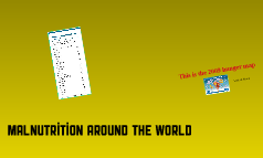 Malnutrition- World wide