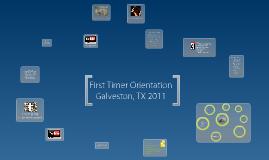 First Timer Orientation