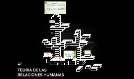 TEORIA DE LAS RELACIONES HUMANAS