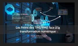 Les freins des TPE/PME face à la transformation numérique